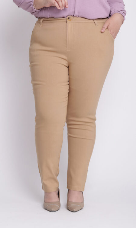 Zeera Plus Skinny Pants Khaki