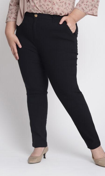 Zeera Plus Skinny Pants Black