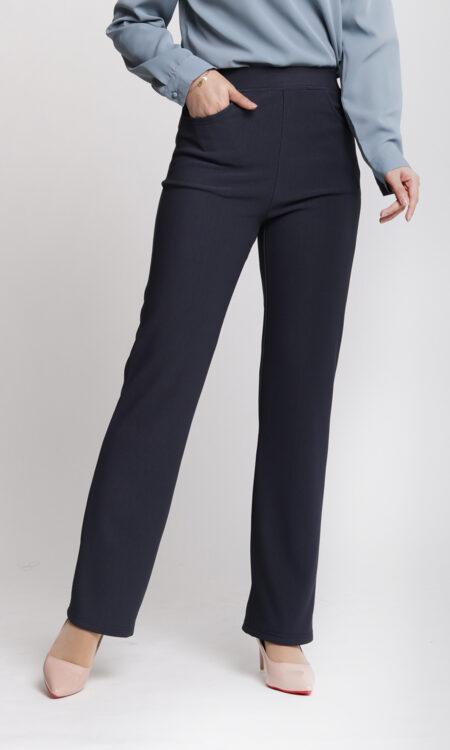 Dinihari Straight Leg Pants Navy