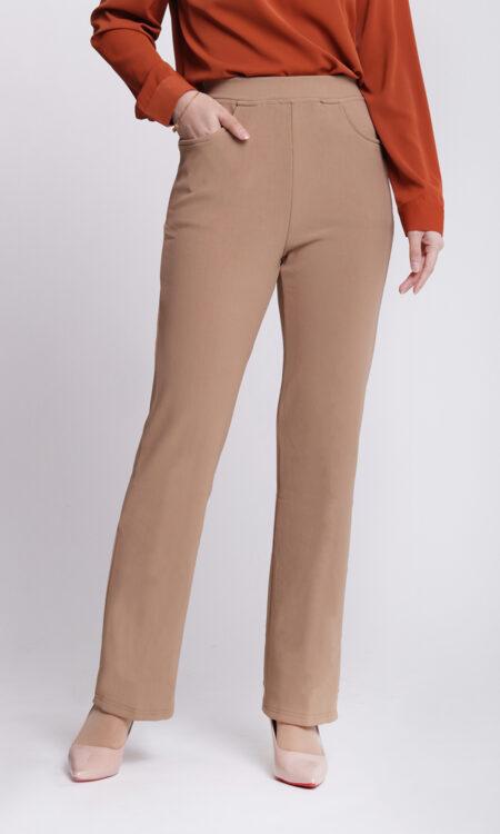 Dinihari Straight Leg Pants Khaki