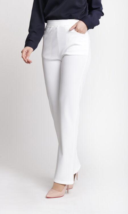 Dinihari Straight Leg Pants White