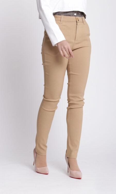 Zeera Skinny Pants Khaki