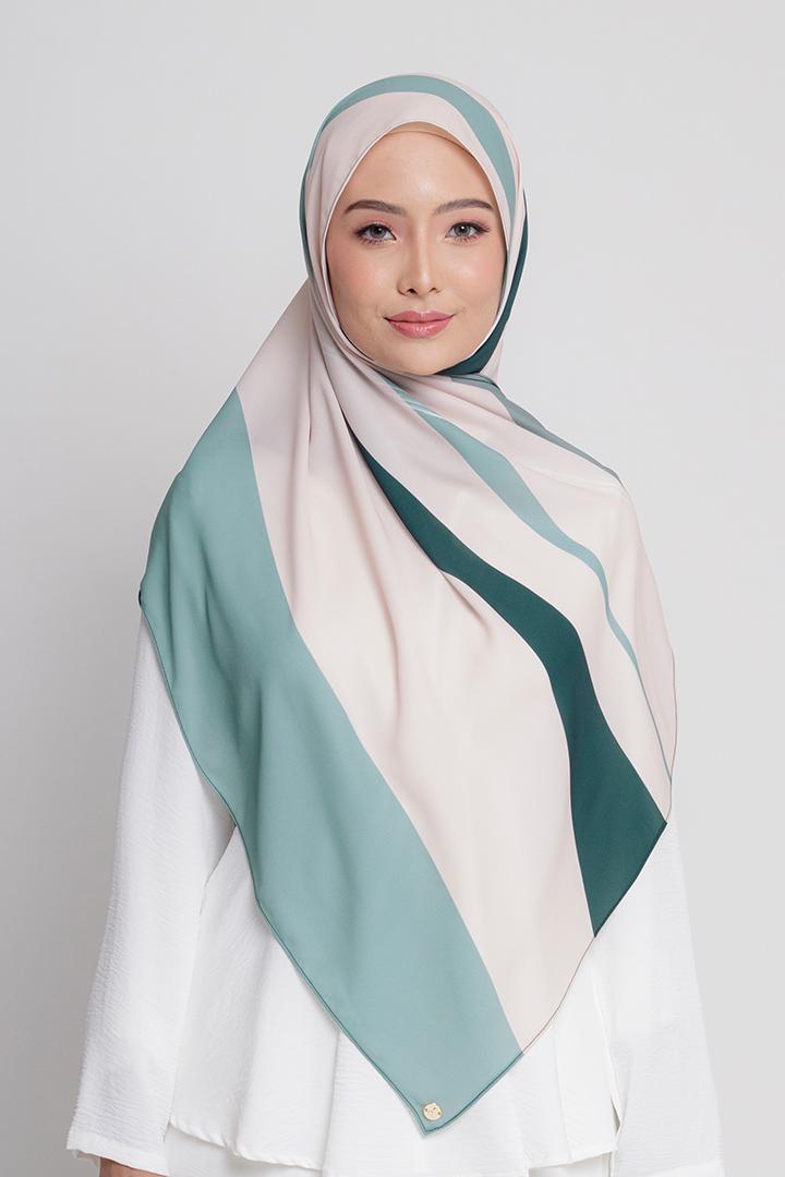 Aluna Shawl Green
